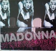 CD + DVD Madonna Sticky & Sweet Tour 2010 - Musique & Instruments