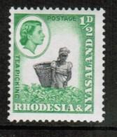 RHODESIA & NYASALAND  Scott # 158** VF MINT NH (Stamp Scan # 460) - Rhodesia & Nyasaland (1954-1963)