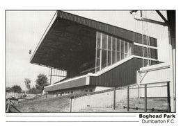 Scotland, DUMBARTON, Boghead Park (1990s) Stadium Postcard - Soccer