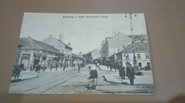 1565. Belgrade-Prince Mihailo Street-furst Michel Strasse -tramway  Road - Yugoslavia