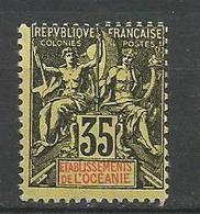 OCEANIE N° 18 NEUF* TRACE DE CHARNIERE  / MH - Océanie (Établissement De L') (1892-1958)
