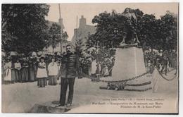 CPA 50 PORT-BAIL - PORTBAIL - Inauguration Du Monument Aux Morts - Discours De M. Le Sous-Préfet - Autres Communes
