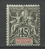 OCEANIE N° 19 NEUF*  CHARNIERE  / MH - Océanie (Établissement De L') (1892-1958)