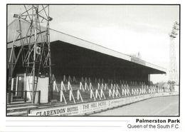 Scotland, DUMFRIES, Palmerston Park, Queen Of The South (1990s) Stadium Postcard - Soccer