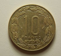 Central African States 10 Francs 1977 - Monnaies