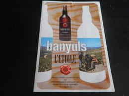 TARIF - BANYULS - L'ETOILE - Francia