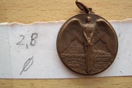 ITALIAN MEDAL MEDAGLIA COMMEMORATIVA DEL SACRARIO DI CAPORETTO SLOVENIA 1915 1918 DIAMETRO CM. 2,8 - 1914-18