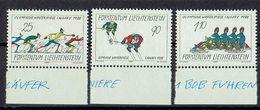 Liechtenstein 1987 // Mi. 934/936 ** - Ungebraucht