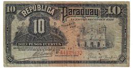 10 PESOS 1923 - Paraguay