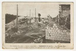 62 - Carency           La Grande Rue - France