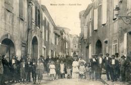 11 - Moux - Lot De 6 Cartes - Grandrue, Place, Mairie,, Avenue De La Gare, Centre Village, Rue Transversale - Autres Communes
