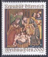 Österreich Austria 2000 Religion Christentum Weihnachten Christmas Kunst Arts Gemälde Paintings Ludesch, Mi. 2334 ** - 1945-.... 2. Republik
