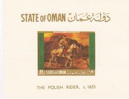 Oman 4 Hojas SIN DENTAR - Omán