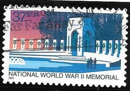 2004 37 Cents World War II, Used - United States