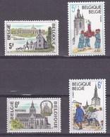1979 Nr 1947-50** Toeristische Uitgifte , Postfris Zonder Scharnier. - Belgique