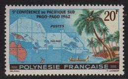 Polynesie - N°17 - ** Neuf Sans Charniere - 5e Conference Du Pacifique - Cote 22.70€ - French Polynesia