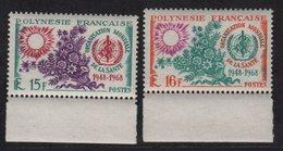 Polynesie - N°60 + N°61 - ** Neuf Sans Charniere - OMS - Cote 26.40€ - French Polynesia