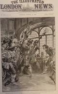 THE ILLUSTRATED LONDON NEWS  3001. OCTOBER 24,1896. TRAFALGAR. DONGOLA. MONTENEGRO. EGYPTIAN EGYPT NILE - Revues & Journaux