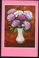 Jacques VILLENEUVE ** Vase En Fête ** Artistes Peignant De La Bouche & Du Pied Belle CP - Peintures & Tableaux