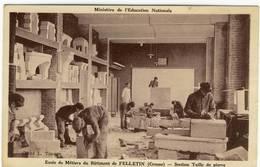 Ecole De Métiers Du Bâtiment De Felletin - Section Taille De Pierre - Felletin