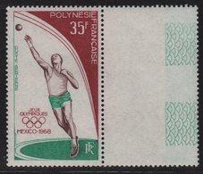 Polynesie - PA N°26 - ** Neuf Sans Charniere - Jeux Olympiques Mexico - Cote 20€ - Blocks & Sheetlets