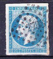 France-Yv 14, PC 2798 Sanceurgues - 1849-1876: Période Classique