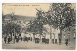 7. - Rooborst Pensionnat - Autre Cour  1914 Nr 14082 - Zwalm