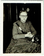 Foto/Photo. Aumonier Militaire Koenraad Vander Linden. Legeraalmoezenier 1913/1948. - War, Military