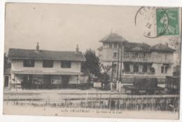 CEYZÉRIAT - La Gare Et Le Cart - Autres Communes