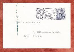 Brief, EF Salzburg, MS Christkindl, Nach Wien 1967 (69954) - 1945-.... 2. Republik