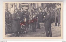 Au Plus Rapide Carte Photo Privas Ardèche Cérémonie Monument Aux Morts 11 Novembre 1936 Excellent état - Privas
