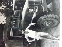 Constantine Soldat Avec Un GMC 1959 Guerre D'Agérie - Guerre, Militaire