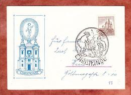 Illustrierte Karte, EF Mariazell, Christkindl Nach Wien 1962 (69956) - 1945-.... 2. Republik