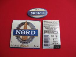 ETIQUETTE BIERE / BIERE DU NORD / FRANCE - Bière