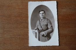 Carte Photo 106 Eme RI  Insigne  Vers 1930 - Guerra, Militares