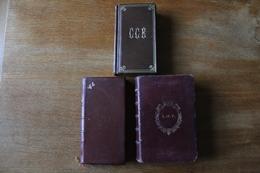 3 Livres Religion Noblesse  Belles  Reliures - Libros, Revistas, Cómics