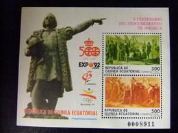 GUINEA ECUATORIAL 1992 Descubrimiento De AMERICA Edifil 152 ** MNH - Guinea Ecuatorial