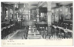 CPA Metz Café Français Et Des Halles - Metz