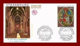 Enveloppe 1er Jour *  Strasbourg  La Nef  * - Stamps