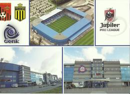 Football -- Genk - Cristal Arena - Belgique     (2 Scans) - Football