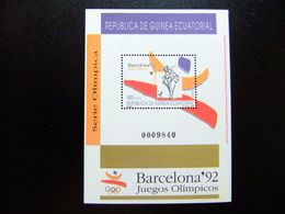 Guinea Ecuatorial 1992 Juegos Olímpicos Barcelona Edifil 151 ** MNH - Guinea Ecuatorial