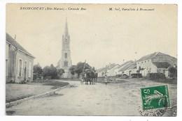 BRONCOURT Haute MARNE Par FAYL LA FORET Wassy Montier En Der Eclaron Saint Dizier Joinville Chaumont Bourbonne Langres - France
