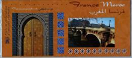2001 Pochette Mixte N° P3441 Emission Commune France-Maroc Fontaines - Blocs Souvenir