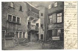 CPA Metz Intérieur De L'ancien Hôtel De La Monnaie 1904 - Metz