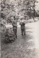 OFFIZIERE WK I. - Orig.Foto Format Ca. 16,5 X 11 Cm, Gebrauchsspuren - Krieg, Militär