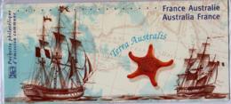 2002 Pochette Mixte N° P3476 Emission Commune France-Australie Baudin-Flinders - Souvenir Blocks