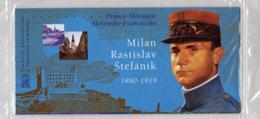 2003 Pochette Mixte N° P3554 Emission Commune France-Slovaquie Milan Stefanil - Souvenir Blocks