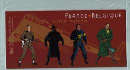 2004 Pochette Mixte N° P3669 Emission Commune France-Belgique Blake & Mortimer - Souvenir Blocks