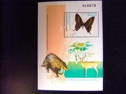 Guinea Ecuatorial 1992 Proteccion De La Naturaleza Mariposas Edifil 158 ** MNH - Guinea Ecuatorial