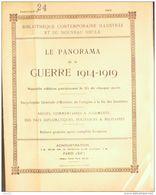 PANORAMA-24-1914-GUERRE-GARROS-REIMS-SHRAPNELLS-TRILPORT-LIZY/OURCQ(photos Pages Détaillées) - Other
